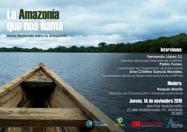 Entreculturas: La Amazonía que nos llama