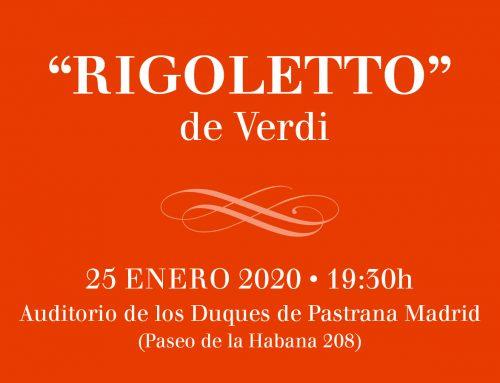 ÓPERA: RIGOLETTO – Ventajas RECUERDO